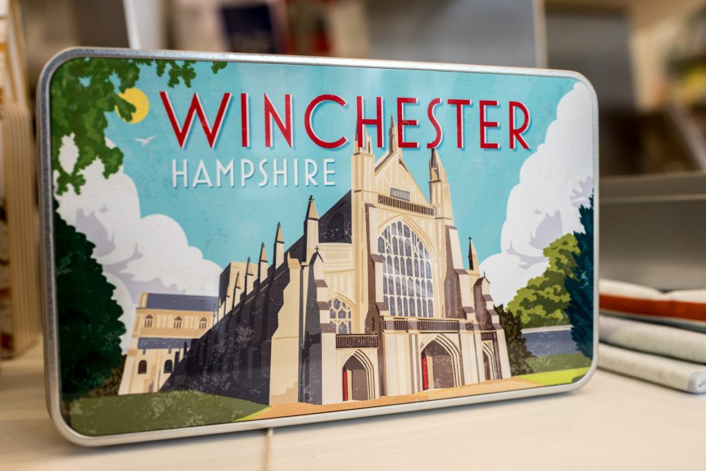 603ef1c5a8fe1 Gift Shop at Winchester Tourist Information Centre - Visit Winchester