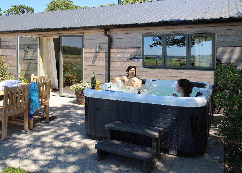 Wallops Wood Hot tub