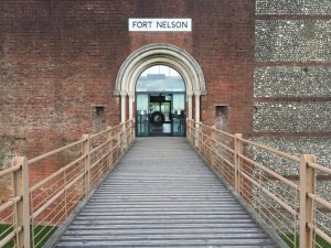Entrance to Fort Nelson