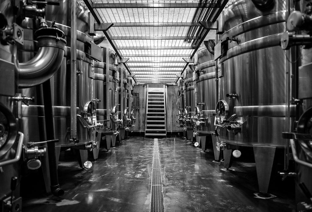 Winery at Hambledon Vineyard