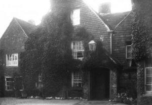 Outside the crown inn