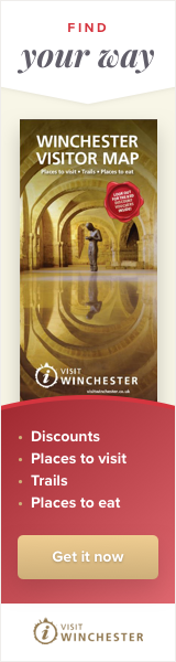 Winchester Visitor Map advert