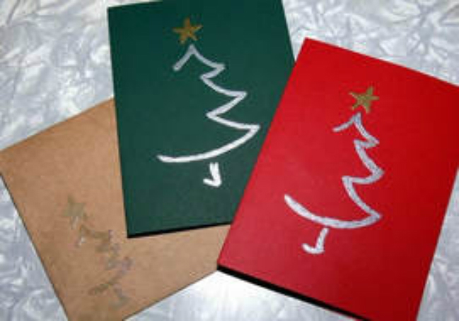 Christmas Card Making Visit Winchester