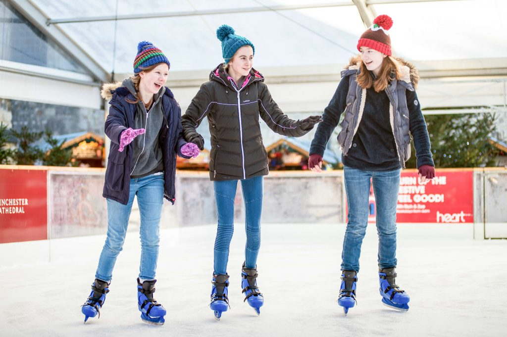 Winchester Cathedral Ice Rink ® Harvey Mills Photography 2017