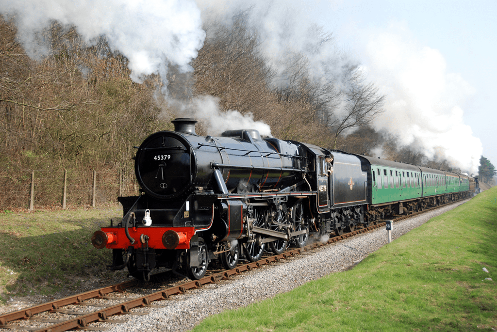 Train at the Watercress Line