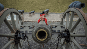 Fort Nelson cannon