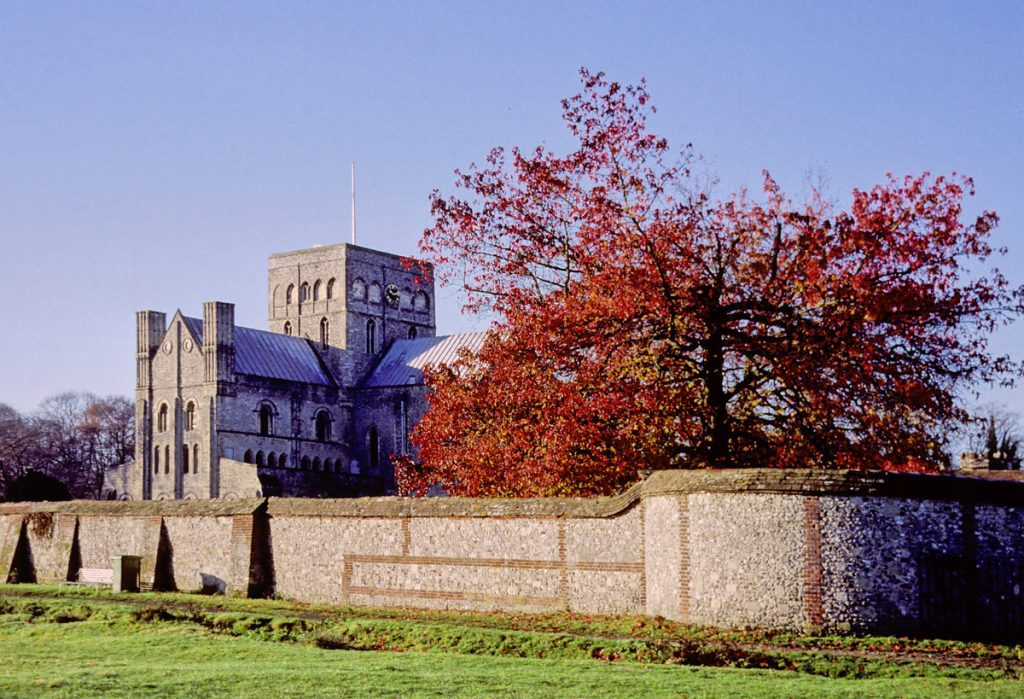 Autumn at the Hospital of St Cross