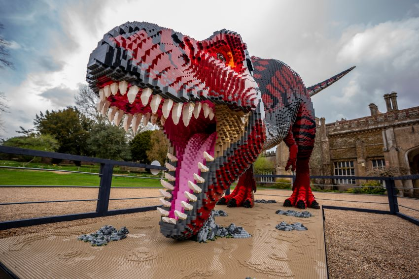 The 8-metre T-Rex at Marwell Zoo