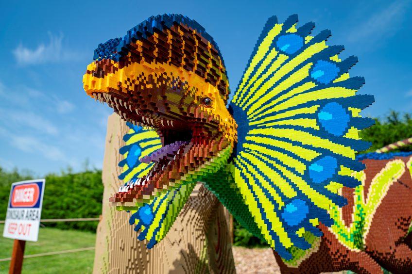 BRICKOSAURS! at Marwell Zoo