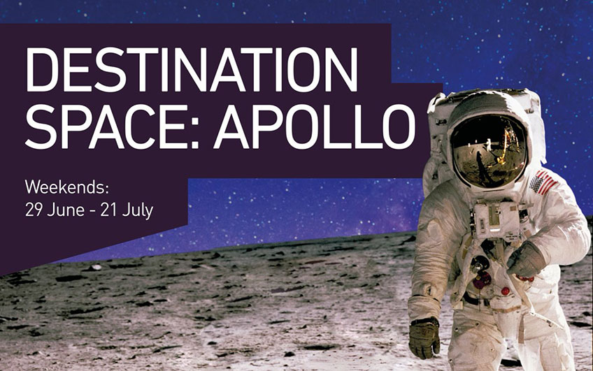 Destination Space: Apollo at Winchester Science Centre and Planetarium