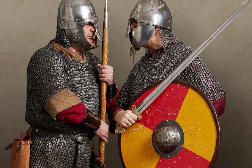 Saxons v Vikings at Fort Nelson