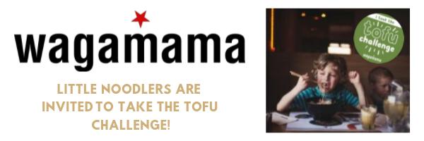 Wagamama Tofu Challenge
