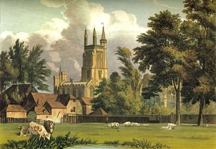 St Cross in 1816