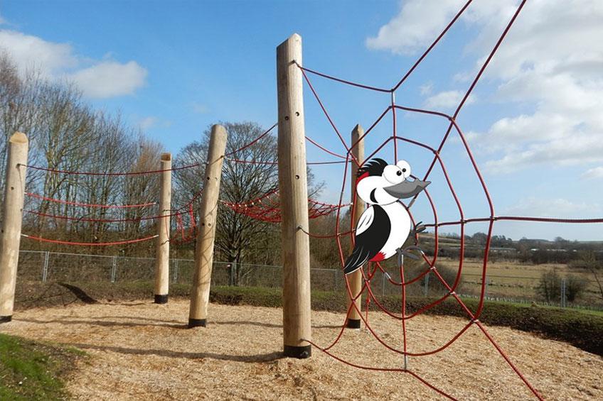 Wonky the Woodpecker