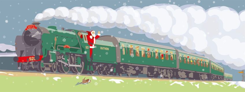 Santa Special at The Watercress Line