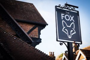 Sign of The Fox public house
