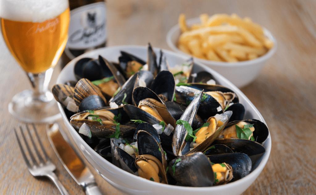 Platter of Cornish Cuisine