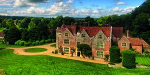 Chawton House seen from above
