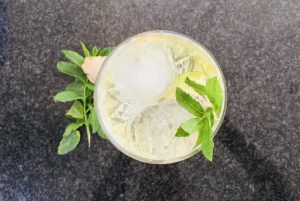 Laverstoke gin cocktail