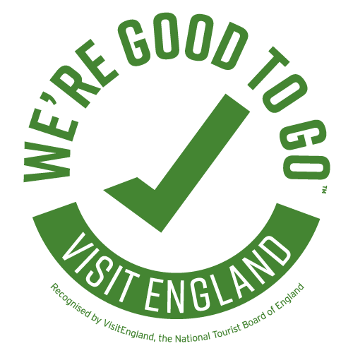 We're good to go green logo