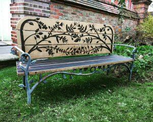 Jane Austen 200 bench