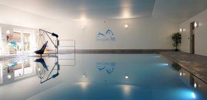 The swimming pool at Wallops Wood