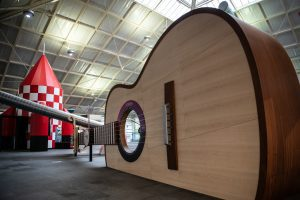 giant guitar exhibition
