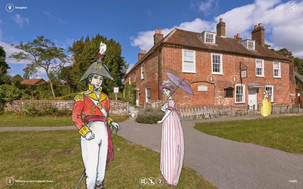 Virtual Tour Chawton Village Street Credit_ Pan 3Sixty & James Robinson