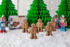 Chocolate robots from Chococ
