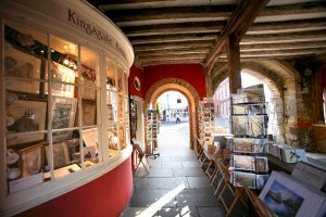 Kingsgate Book and Prints shop from the outside