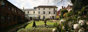 Winchester Royal Hotel back garden