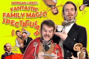 Morgan and West performimng magic
