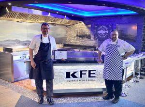 Chefs stood inside Shoal