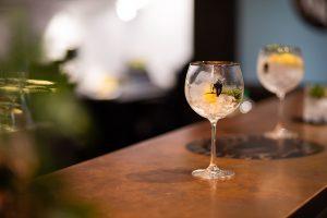 A cocktail at Gorilla Spirits